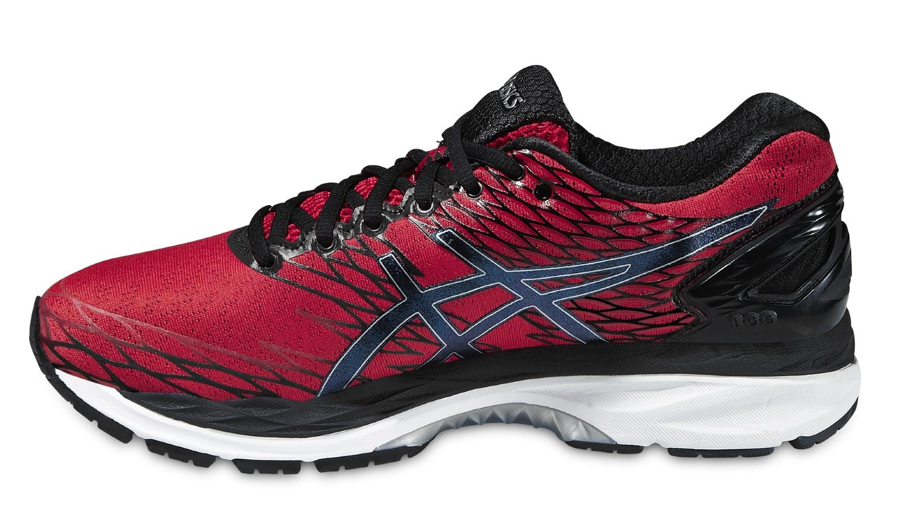 Мужская беговая обувь Asics Gel-Nimbus 18 (T600N 2390) красные фото
