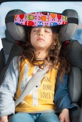 Фиксатор головы ребенка в автокресле Клювонос Розовая Сова