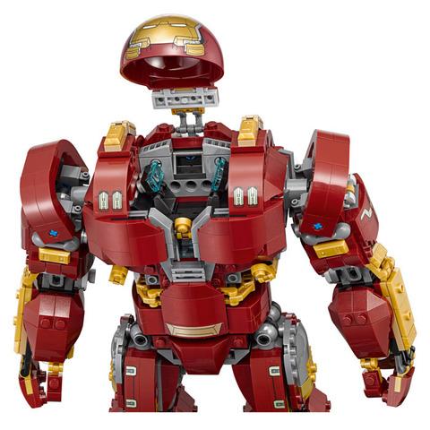 LEGO Super Heroes: Халкбастер: Эра Альтрона 76105 — The Hulkbuster: Ultron Edition — Лего Супергерои Марвел