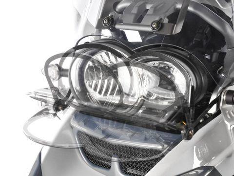 Защита фары BMW R1200GS/GSA прозрачная