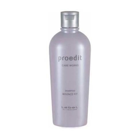 Lebel Proedit Bounce Fit Shampoo - Восстанавливающий шампунь для мягких волос