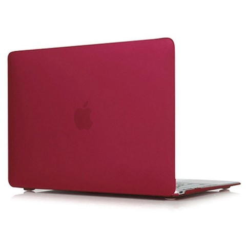 Накладка пластик MacBook Air 13.3 /matte wine red/