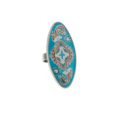 Кольцо Clara Bijoux K74681 BL