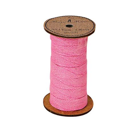 Катушка с лентой, розовая