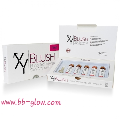 Сыворотка для румян XY BLUSH Pink 1  коробка 5 ампул по 5 мл.