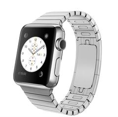 Часы Apple Watch 38мм (серебристный стальной с застежкой