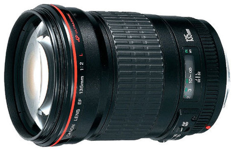 Canon EF 135mm f/2L USM (JAPAN)