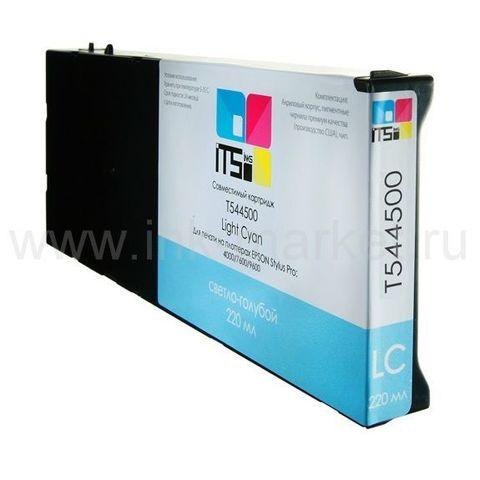 Совместимый картридж для Epson Stylus Pro 4000, 7600, 9600 Cyan Pigment, 220 мл (М0000003950)
