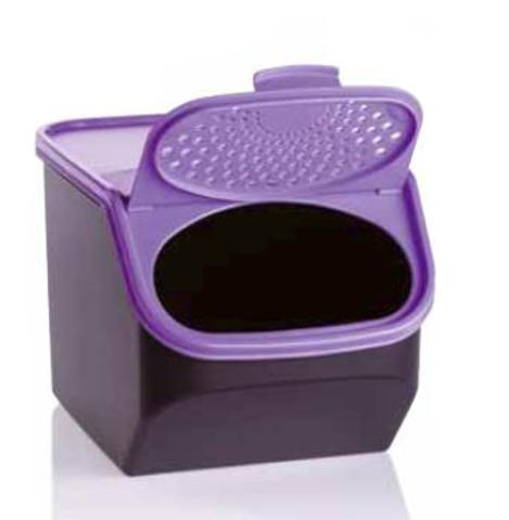 Контейнер Свежесть 3л с фиолетовой крышкой