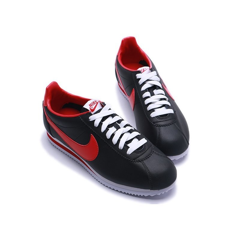 Nike Cortez (Black/Red) - (011)