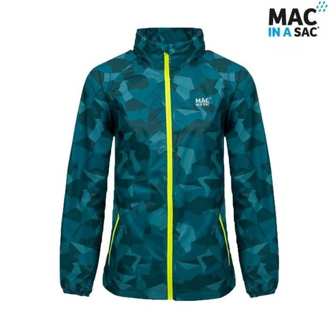Куртка Limited Edition TEAL CAMO Mac in a Sac
