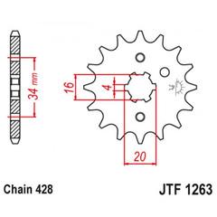 Звезда ведущая JT JTF1263.13