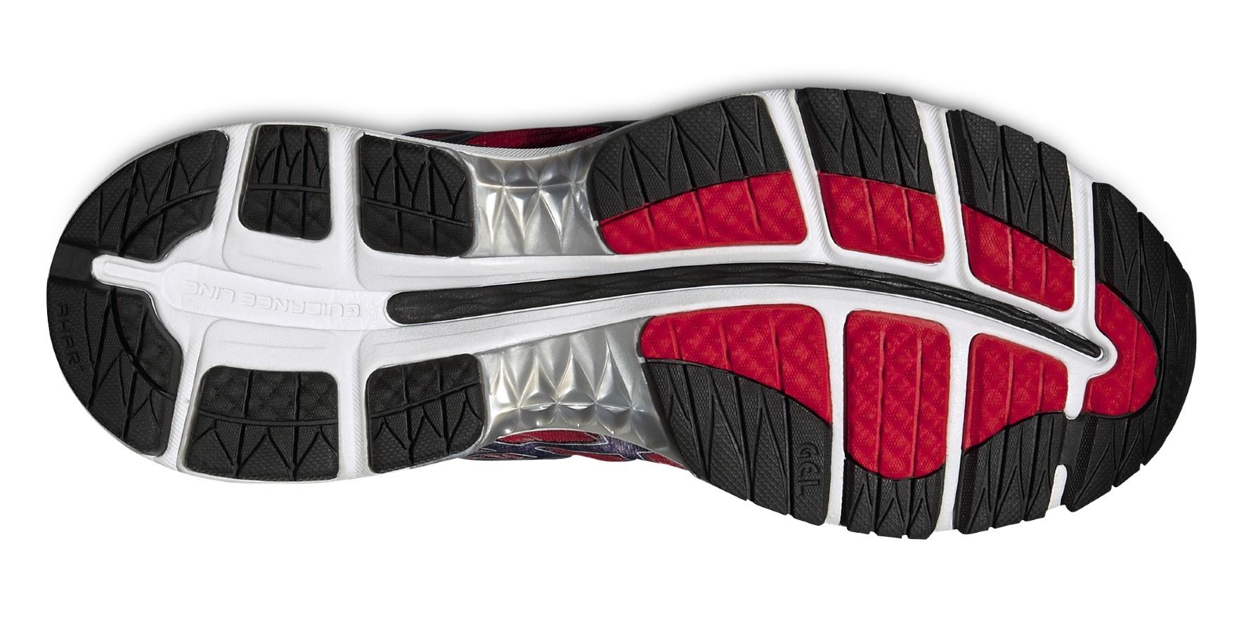 Мужские кроссовки для бега Asics Gel-Nimbus 18 (T600N 2390) красные фото