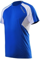 Футболка беговая Noname Juno 15 blue-white
