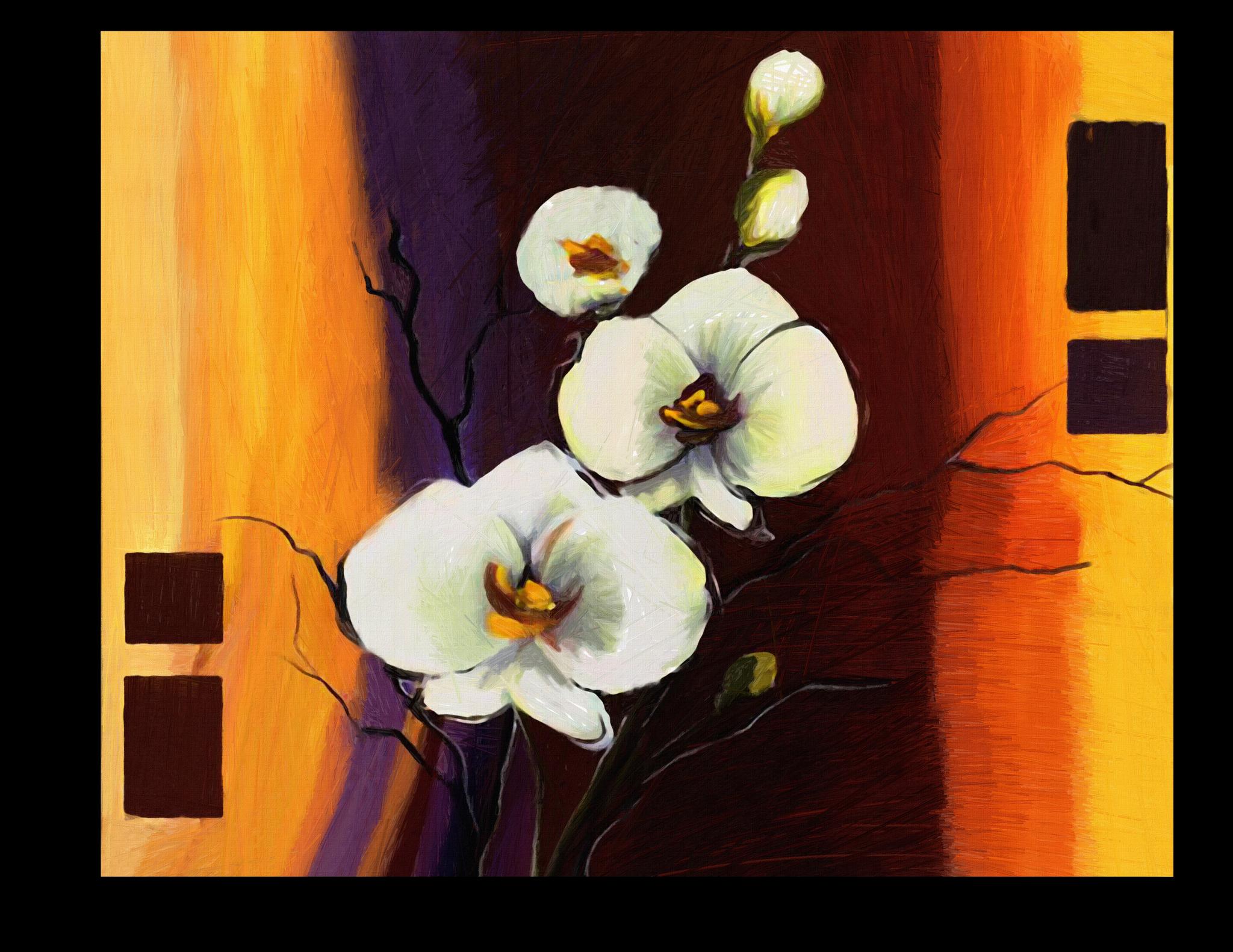 """Постеры Постер """"Цветущий цветок"""" п67.png"""