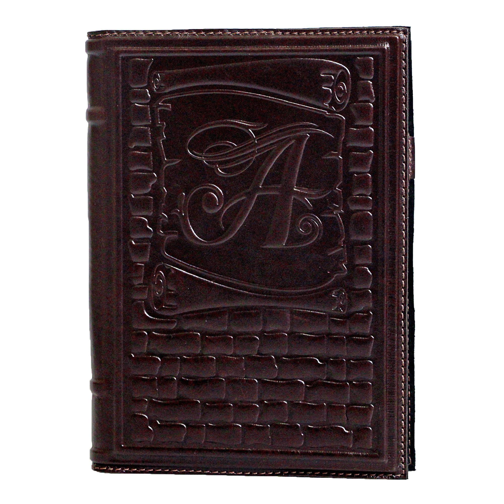 Ежедневник кожаный А5 «Свиток» А80704