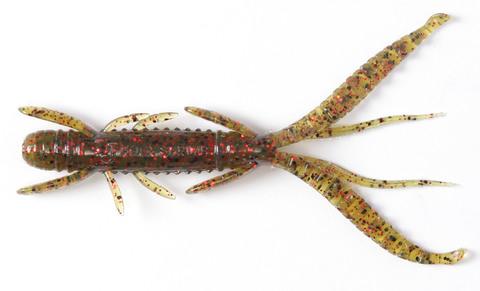 Мягкая приманка Lucky John Series HOGY SHRIMP 3.5in (89 мм), цвет PA03, 5 шт.