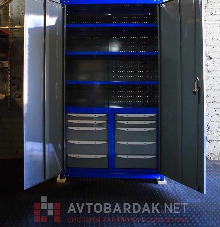 Модульный пол в гараж 3300 х 2150 мм (пандус с 3 сторон). набор из черных плиток