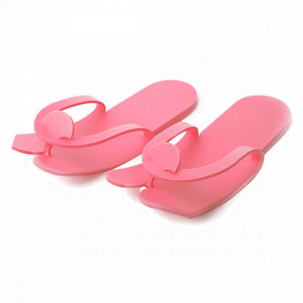 Одноразовые материалы для косметологии Тапочки одноразовые вьетнамки пенопропилен, розовые 5мм 25 пар/упк Тапочки-вьетнамки-пенопропилен-розовые.jpg