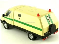 GAZ-3302 Ratnik Collector Car Russia 1:43 DeAgostini Service Vehicle #14
