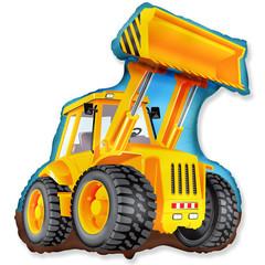 F Мини фигура Экскаватор / Excavator (14