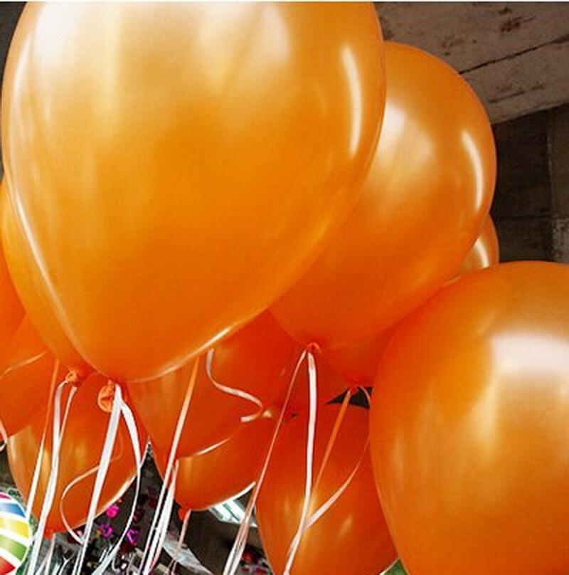 Оранжевые воздушные шары (фото 2)