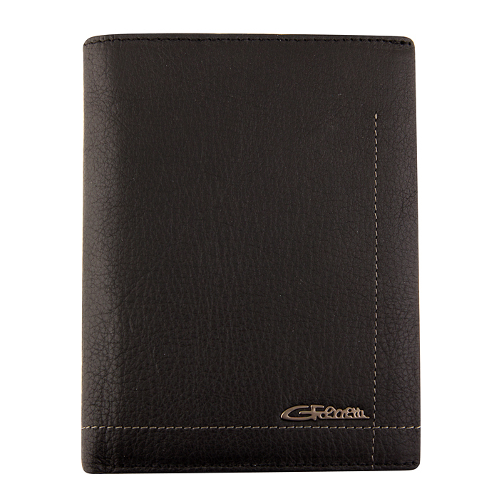 Мужское портмоне черного цвета Giorgio Ferretti 0098-C1 black GF