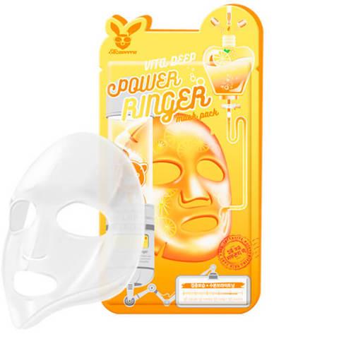 Elizavecca Витаминизированная тканевая маска для повышения упругости лица 23мл