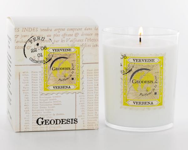 Ароматическая свеча Geodesis Verbene