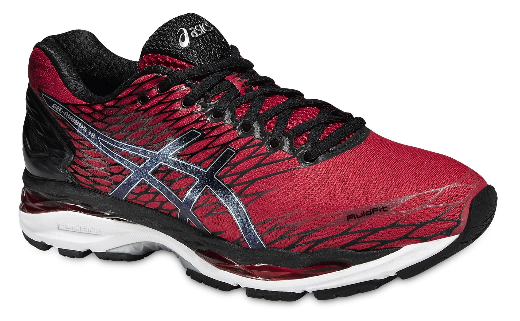 Мужские кроссовки для бега Asics Gel-Nimbus 18 (T600N 2390) красные