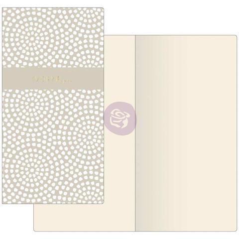 Внутренний блок для блокнотов -Prima Traveler's Journal Notebook Refill - Dotted Circles W/Ivory Paper