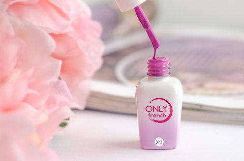 Гель-лак Only French, Violet Touch №393, 7ml