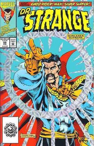 Doctor Strange Sorcerer Supreme #50 Holographic Cover