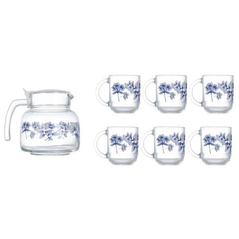 Чайный cервиз Luminarc Altese Blue 7 предметов (N6224)