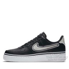 Кроссовки мужские Nike Air Force 1 Low '07 LV8 NBA Team Black Grey