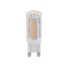 Лампа светодиодная G9 5W 3300K кукуруза прозрачная 4690389078309