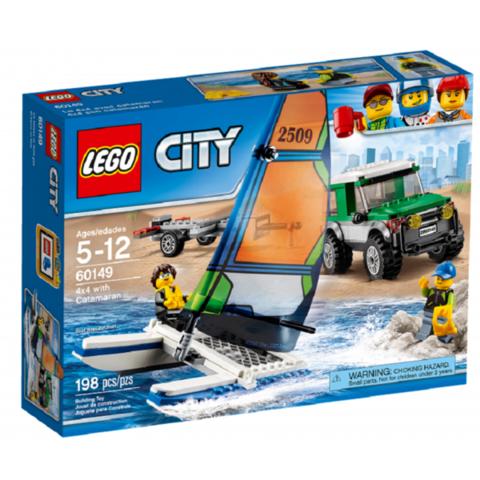 LEGO City: Внедорожник с прицепом для катамарана 60149