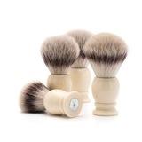 Помазок MUEHLE CLASSIC, фибра высшей категории Silvertip, смола, цвет слоновой кости, размер M (31 K 257)