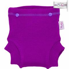 Тренировочные трусики из шерсти мериноса с вкладышем Mamalino  Фиолетовый