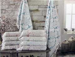 Набор полотенец  CELESTINA - СЕЛЕСТИНА 2пр 50х100 и 85х150  Maison Dor (Турция)