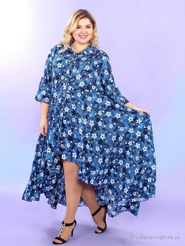 Платье-рубашка Эстель