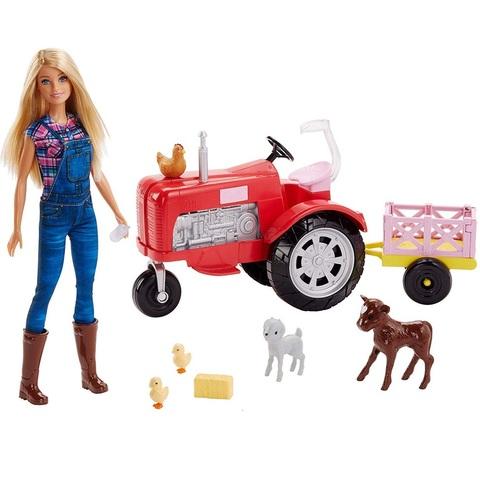 Барби набор Фермер с Трактором и Животными