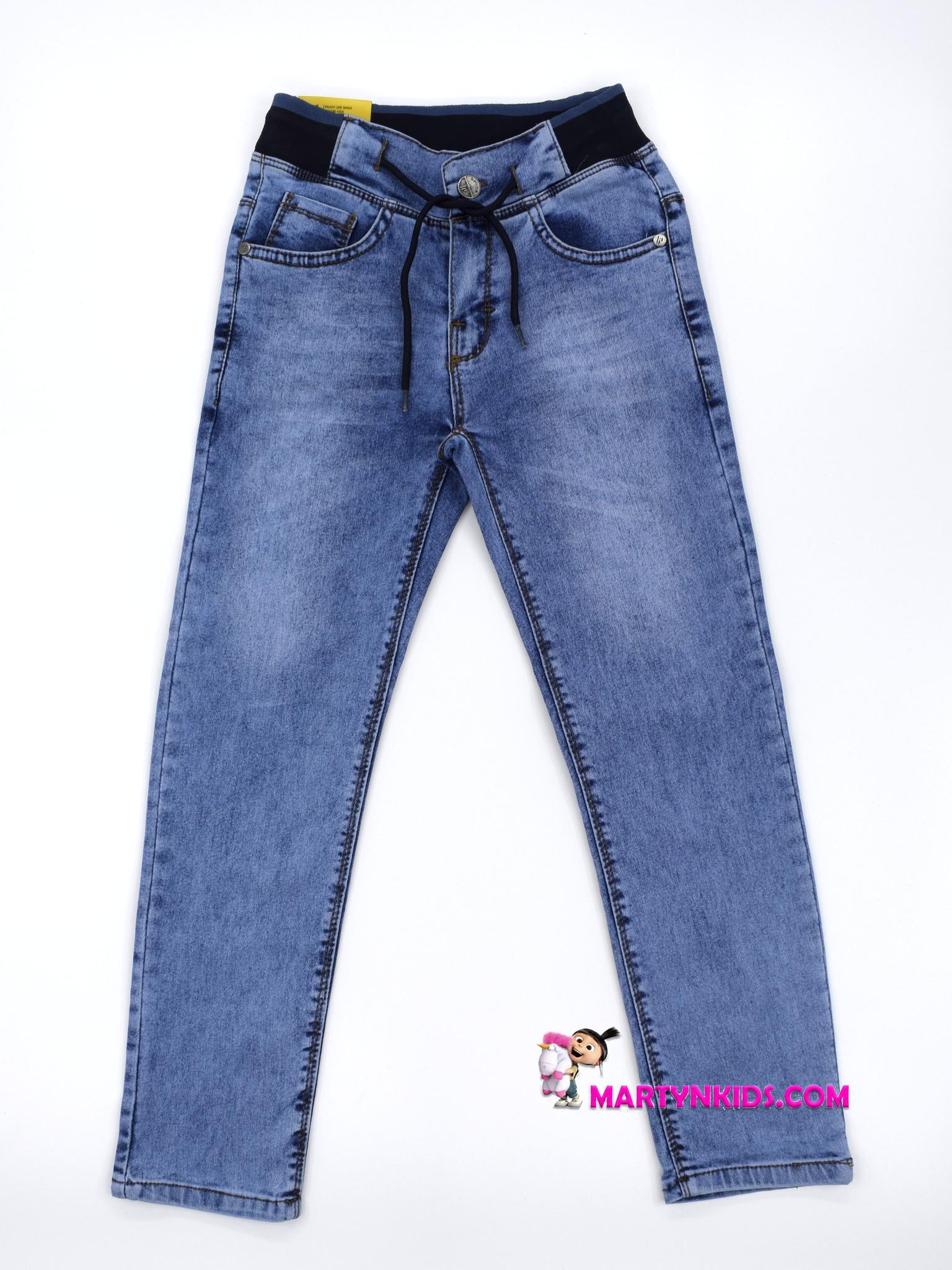 2341 джинсы на резинке