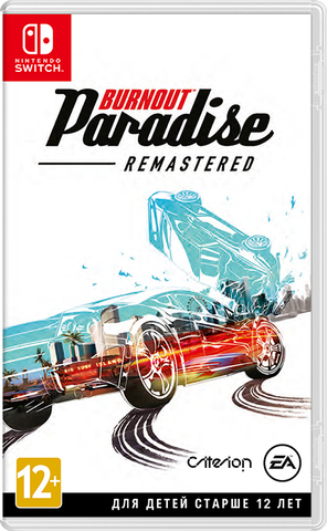 NS: Burnout Paradise Remastered (русская документация)