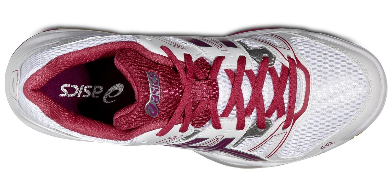 Женские кроссовки для волейбола Асикс Gel-Rocket 7 (B455N 0119) розовые фото