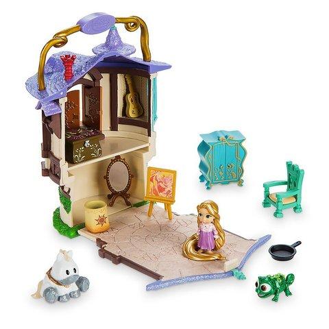 Игровой Набор Мини Домик Рапунцель с Аксессуарами - Rapunzel Micro PlaySet, Disney Animators' Collection