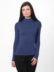 7171-18 водолазка женская, синяя
