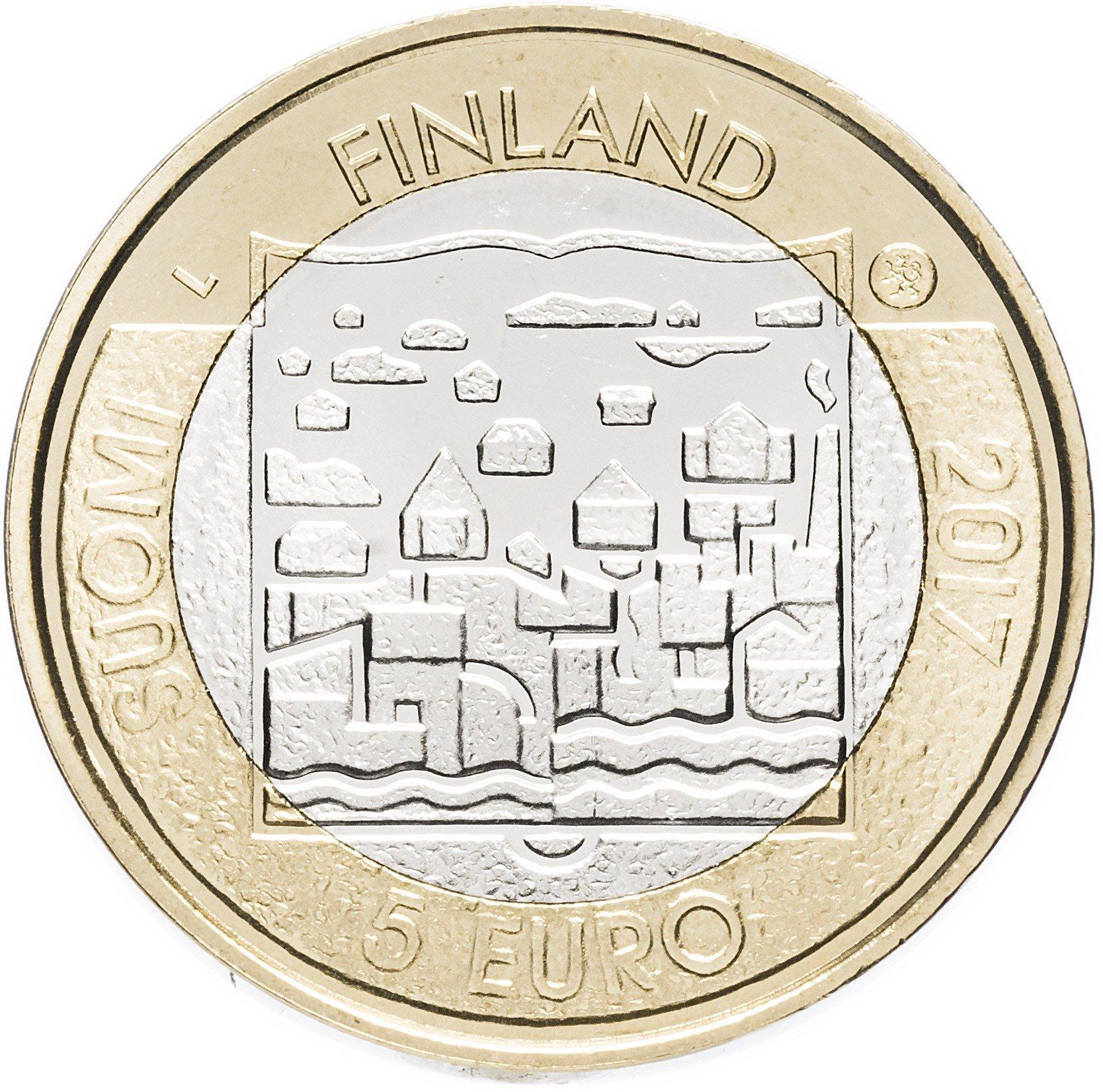 5 евро 2018 Финляндия - Майно Хенрик Койвисто (9-й президент)