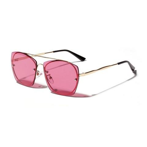 Солнцезащитные очки 1173001s Малиновый - фото