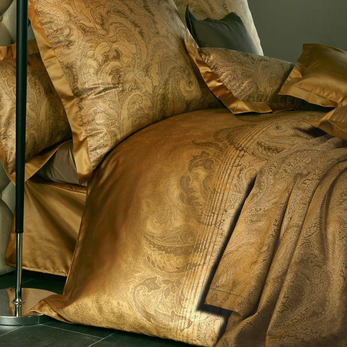 Постельное белье 2 спальное евро Curt Bauer Katharina янтарное
